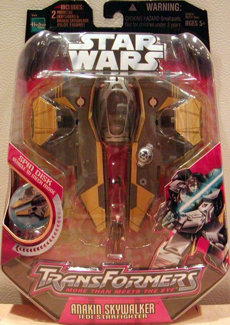 Anakin Skywalker Jedi Starfighter, Transformers