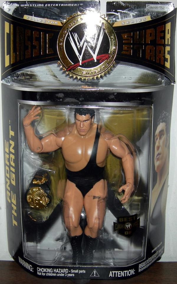 Andre Giant Best WWE Classic Super Stars action figure