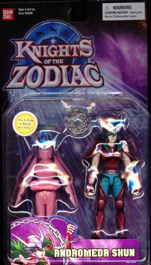 Andromeda Shun Action Figure Knights Zodiac Bandai