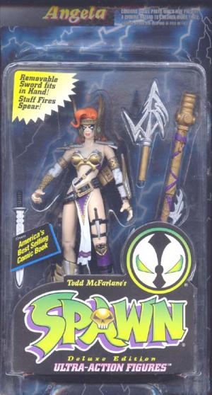 Angela Spawn Smooth Shaft Rivets action figure