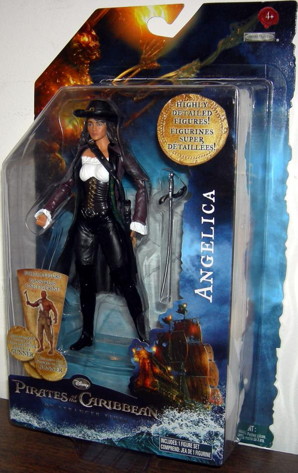 Angelica Stranger Tides Pirates Caribbean Build-A-Figure