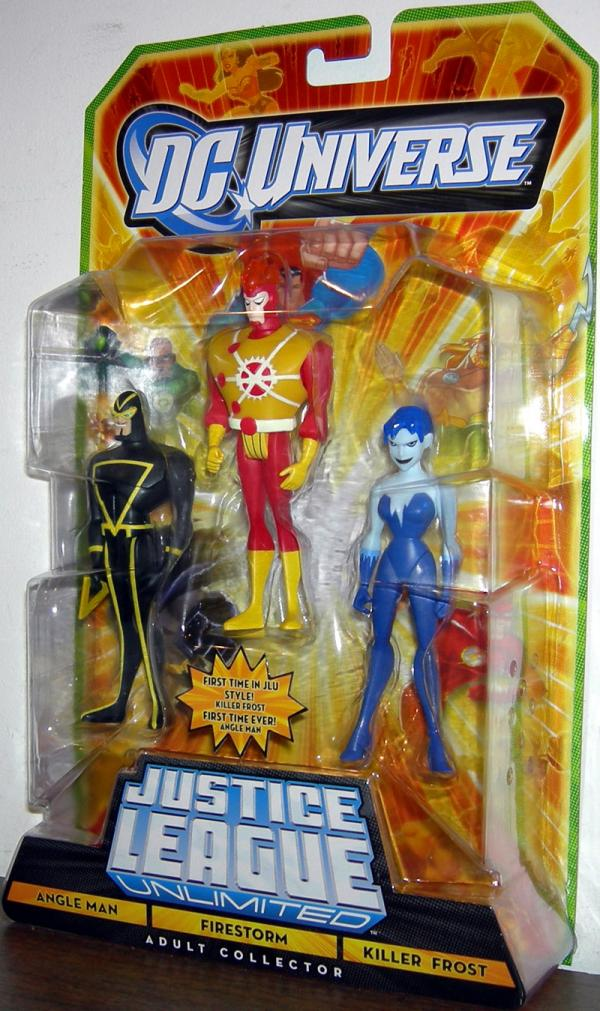 Angle Man Firestorm Killer Frost Figures DC Universe