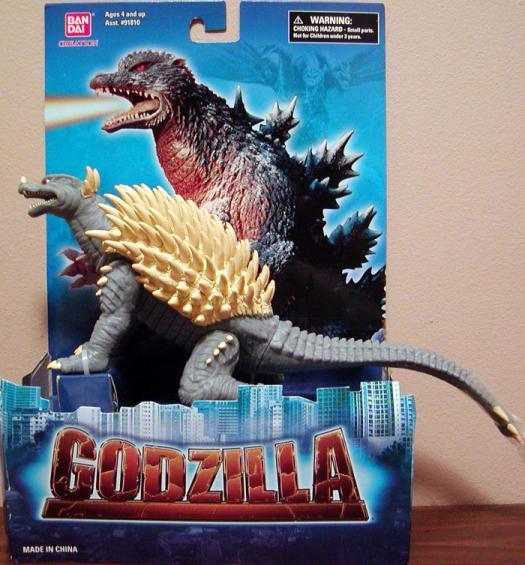 Anguirus 2004 Action Figure Godzilla Ban Dai