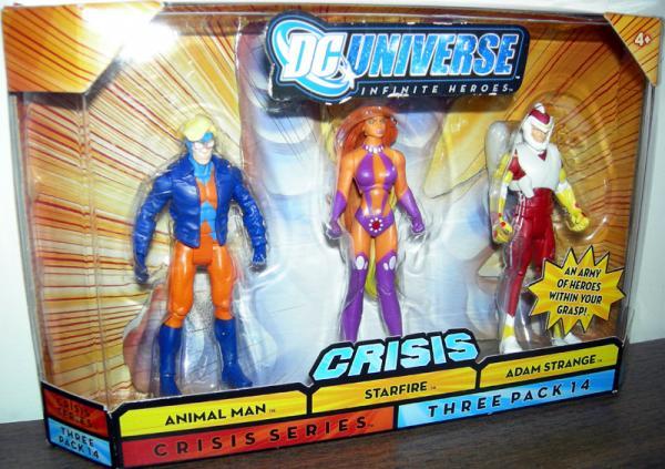 Animal Man, Starfire Adam Strange Three Pack 14