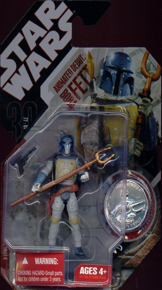 Animated Debut Boba Fett Figure 30th Anniversary 24 Star Wars