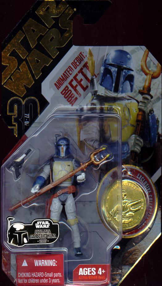 Animated Debut Boba Fett Ultimate Galactic Hunt Star Wars figure