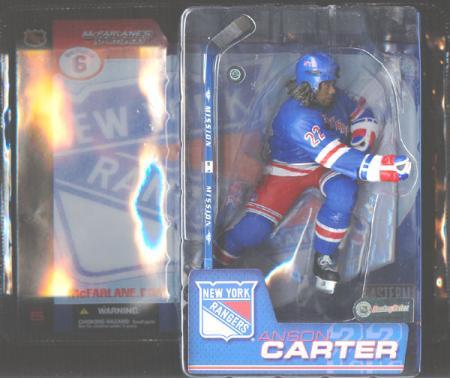 Anson Carter, Rangers Jersey