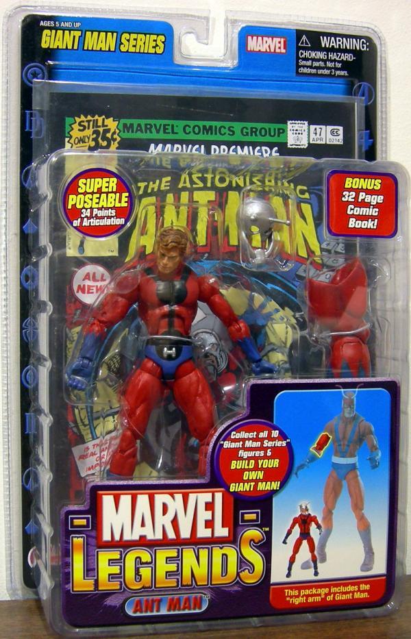 Ant Man Marvel Legends Figure Toy Biz
