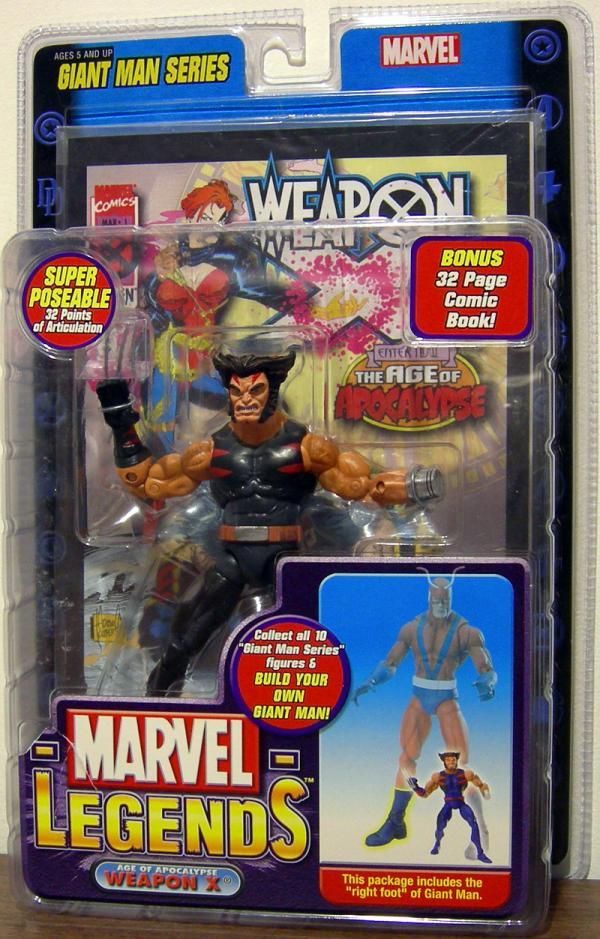Age of Apocalypse Weapon X Marvel Legends Action Figure