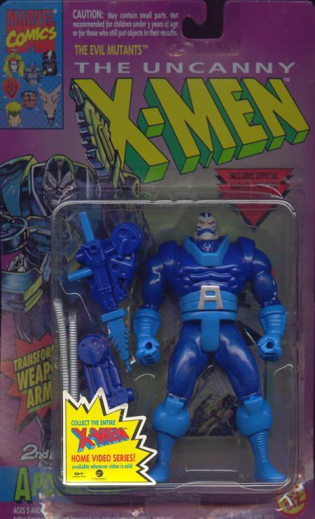 Apocalypse Figure 2nd Edition X-Men Toy Biz