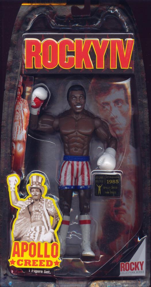 Apollo Creed vs Ivan Drago Best Rocky IV Series 1 action figure