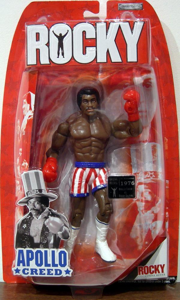 Apollo Creed, Rocky I, pre-fight