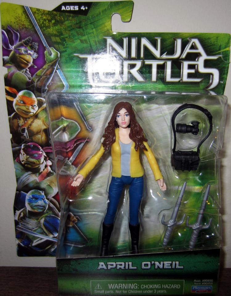 April Oneil Figure Teenage Mutant Ninja Turtles Movie