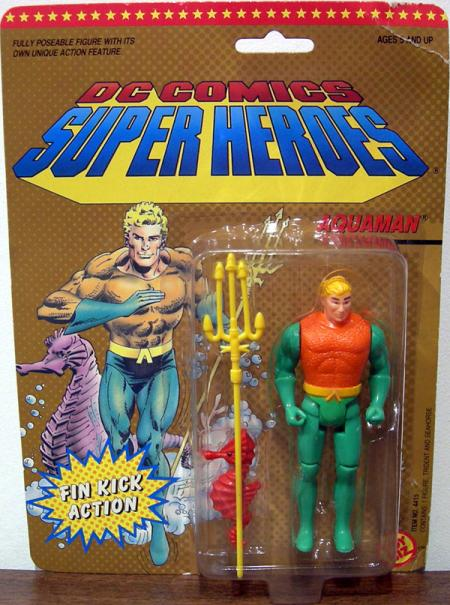 Aquaman, DC Super Heroes, green arms variant