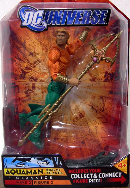 Aquaman King Atlantis DC Universe Classics long hair action figure