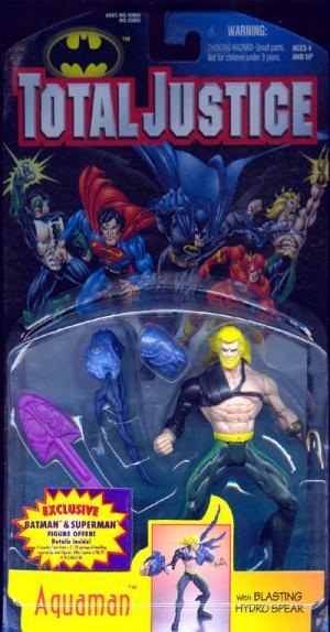 Aquaman Total Justice action figure