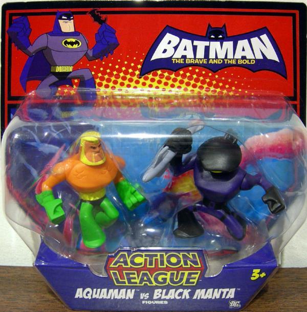 Aquaman vs Black Manta, Action League