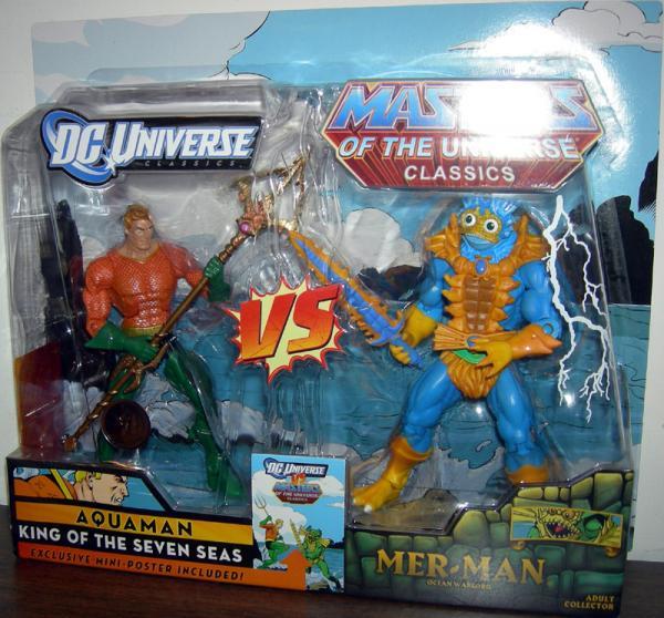 Aquaman vs Mer-Man Action Figures Mattel