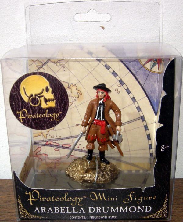 Arabella Drummond Figure Pirateology Mini Sababa Toys
