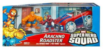 Arachno Roadster Spider-Man Thing, Super Hero Squad