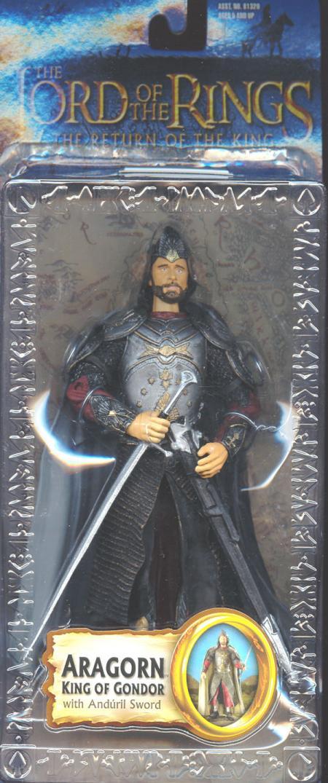 Aragorn King Gondor Figure Trilogy Lord Rings Return King