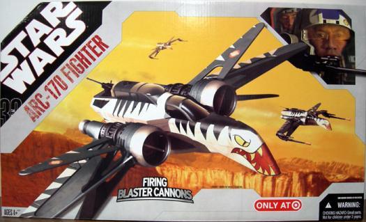ARC-170 Fighter 30th Anniversary Vehicle Star Wars Hasbro