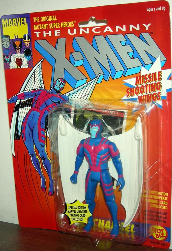 Archangel Figure Missile Shooting White Wings X-Men