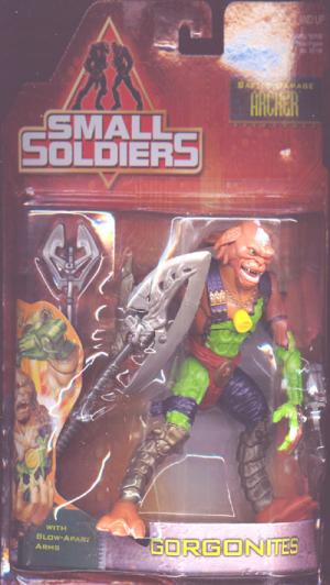Archer Battle Damage Small Soldiers action figure