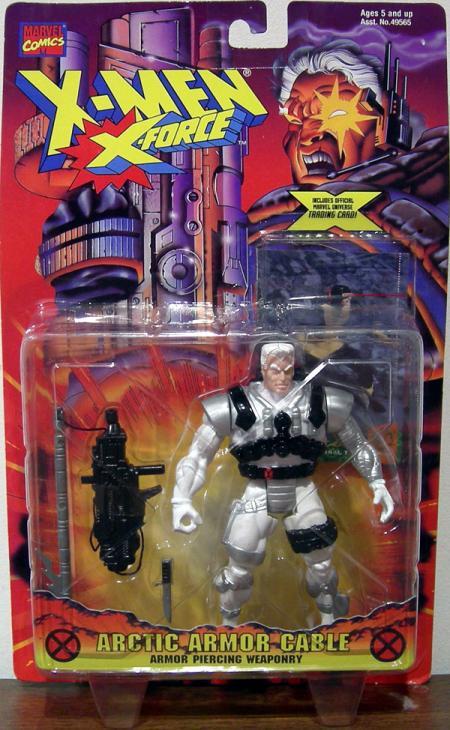Arctic Armor Cable Action Figure X-Men X-Force Toy Biz