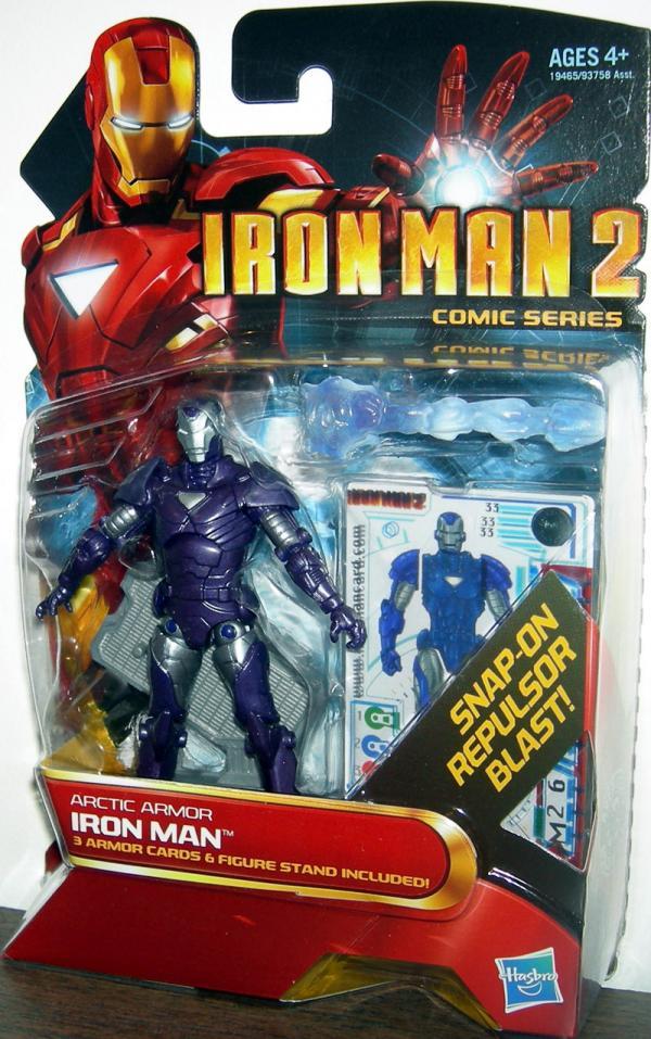 Arctic Armor Iron Man, 33