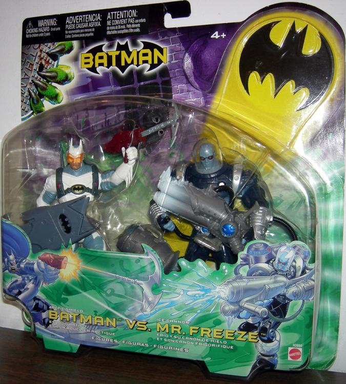 Arctic Shield Batman vs Ice Cannon Mr Freeze 2-Pack