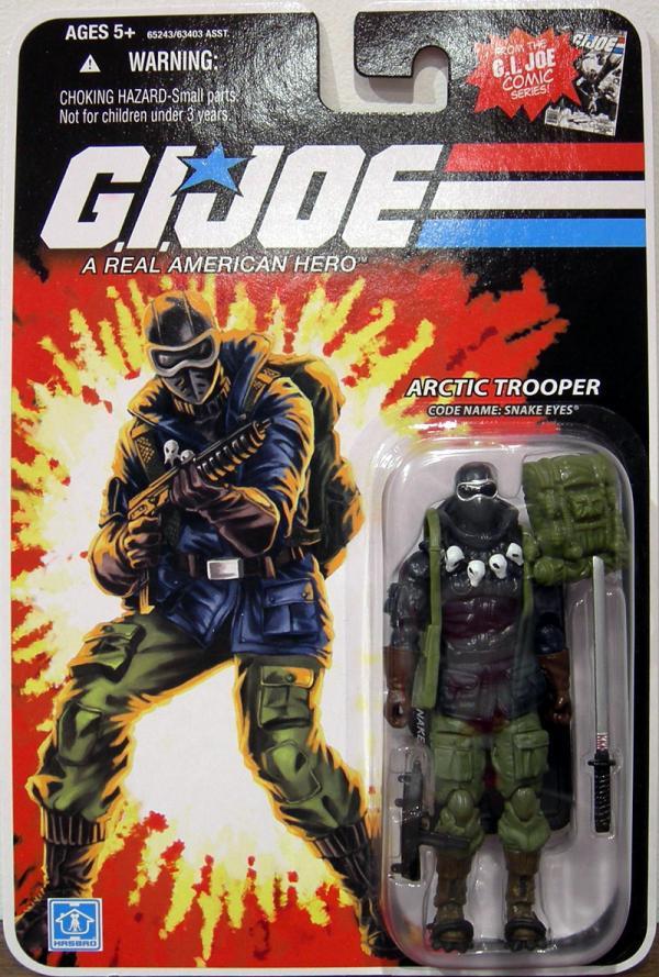 Arctic Trooper, Code Name - Snake Eyes