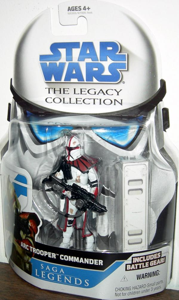 ARC Trooper Commander, Legacy Collection