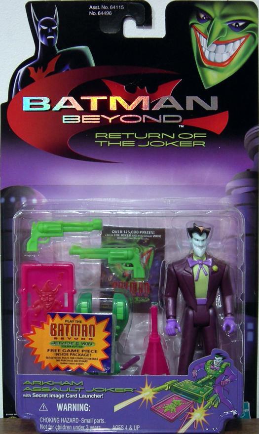 Arkham Assault Joker Figure Batman Beyond Hasbro