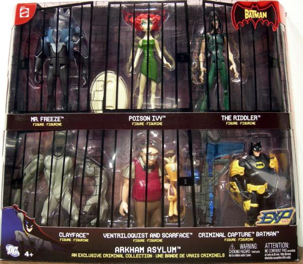 Arkham Asylum 7-Pack, EXP, Mr Snoots variant