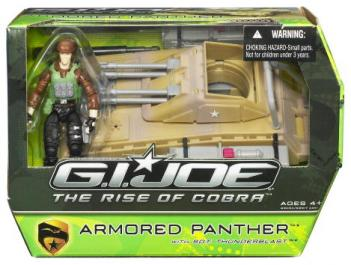 Armored Panther Sgt Thunderblast, Rise Cobra action figure