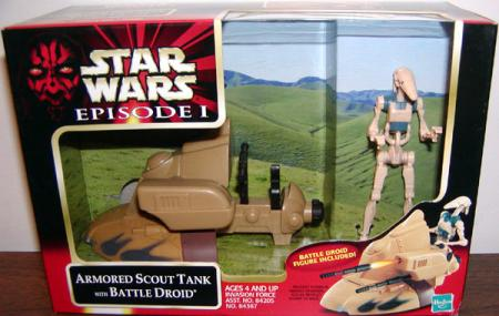 Armored Scout Tank Battle Droid, 0100