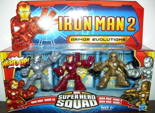 Armor Evolutions, Super Hero Squad