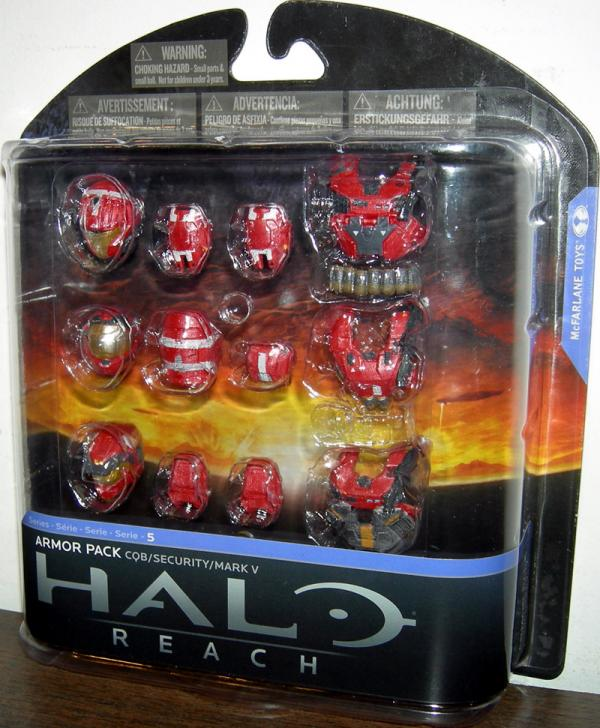Carded CQB Custom Armor Pack Series 5 Target Exclusive Halo Reach