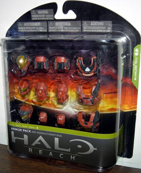Air Assault Armor Pack Rust Toys R Us Exclusive Halo Reach accessory