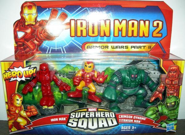 Armor Wars Part II Iron Man Super Hero Squad action figures