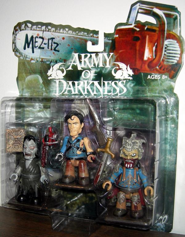 Army Darkness 3-Pack, Mez-Itz