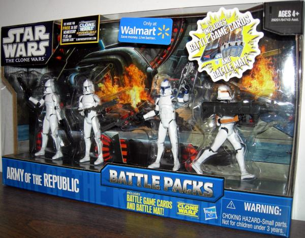 Army Republic 4-Pack, Battle Packs