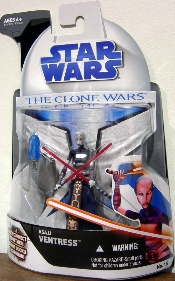 Asajj Ventress, Clone Wars