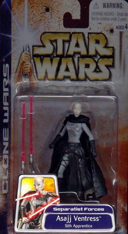 Asajj Ventress Sith Apprentice Clone Wars action figure