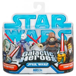 Asajj Ventress Count Dooku, Galactic Heroes