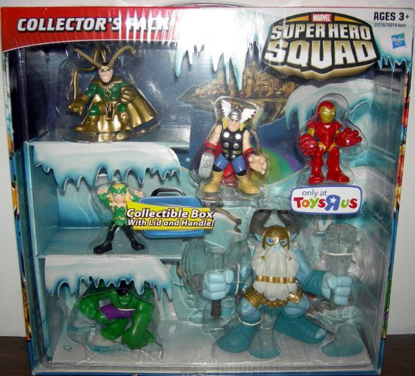 Asgard Collectors Pack Super Hero Squad Action Figures