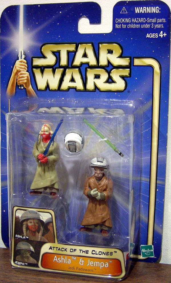 Ashla Jempa Figures Star Wars Attack Clones