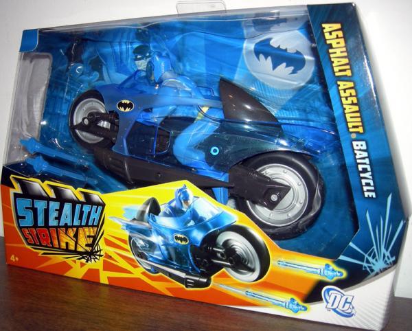 Asphalt Assault Batcycle, Stealth Strike