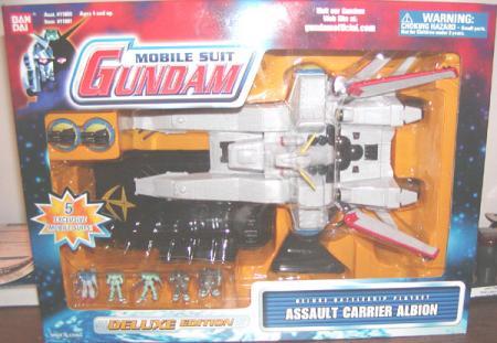 Assault Carrier Albion Mobile Suit Gundam action figure